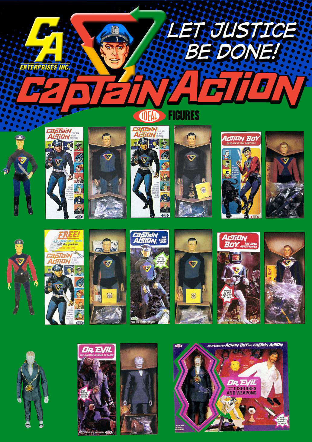 Playing Mantis - Captain Action CaptainAction01