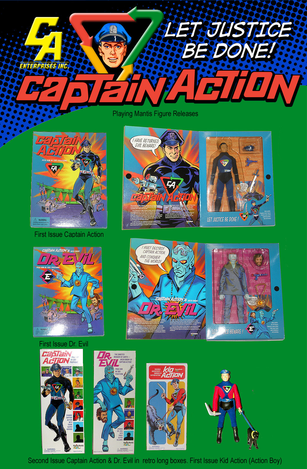 Playing Mantis - Captain Action CaptainAction16