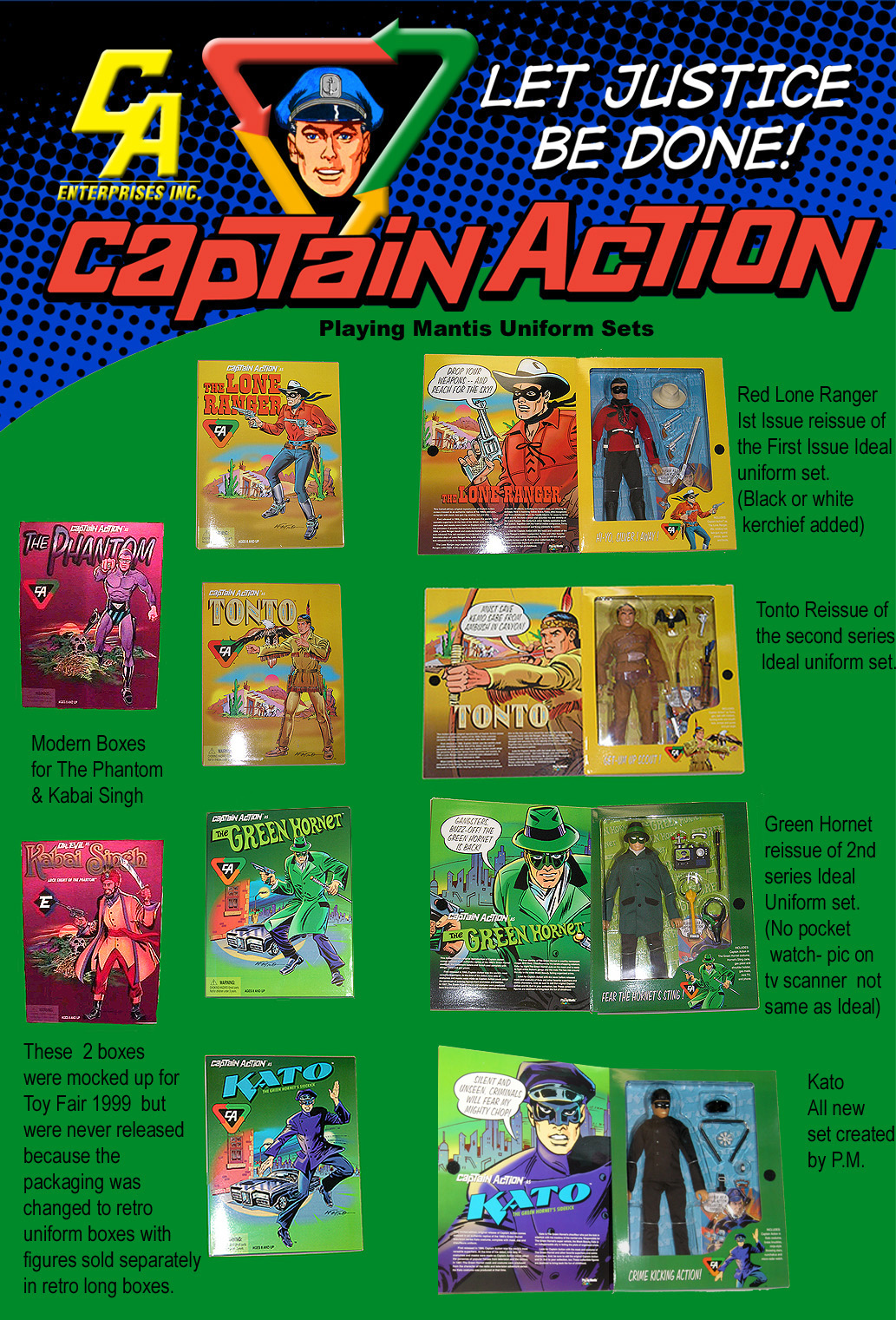 Playing Mantis - Captain Action CaptainAction17